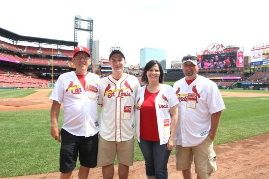 Honorary Bat Girl: Christina Sego (Right-Center)