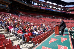 Cardinals Care Grant Ceremony